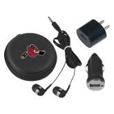 3 in 1 Black Audio Travel Kit-Hammy w/ Hockey Stick