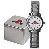 Mens Stainless Steel Fashion Watch-Hammy w/ Hockey Stick