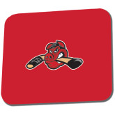 Full Color Mousepad-Hammy w/ Hockey Stick