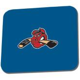 Full Color Mousepad-Hammy w/ Hockey Stick