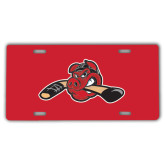 License Plate-Hammy w/ Hockey Stick