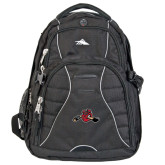 High Sierra Swerve Compu Backpack-Hammy w/ Hockey Stick