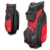 Callaway Org 14 Red Cart Bag-Hammy w/ Hockey Stick