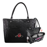 Sophia Checkpoint Friendly Black Compu Tote-Hammy w/ Hockey Stick