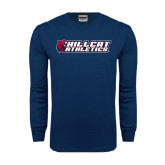 Navy Long Sleeve T Shirt-Hillcat Athletics