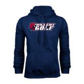 Navy Fleece Hoodie-Golf
