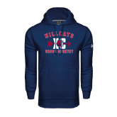 Under Armour Navy Performance Sweats Team Hoodie-Cross Country XC