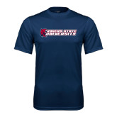 Performance Navy Tee-University Logo