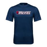 Performance Navy Tee-Hillcat Athletics