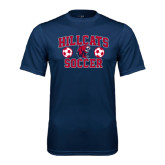 Performance Navy Tee-Hillcats Soccer Stacked