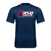 Performance Navy Tee-Cheerleading
