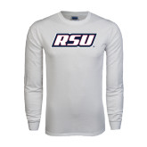 White Long Sleeve T Shirt-RSU
