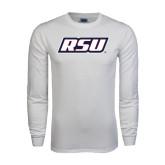 White Long Sleeve T Shirt-RSU