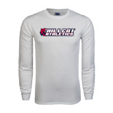 White Long Sleeve T Shirt-Hillcat Athletics