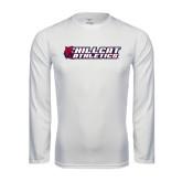 Syntrel Performance White Longsleeve Shirt-Hillcat Athletics