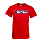 Red T Shirt-Hillcat Athletics