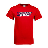 Red T Shirt-Golf
