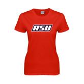 Ladies Red T Shirt-RSU