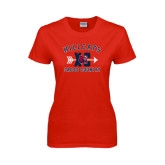 Ladies Red T Shirt-Cross Country XC