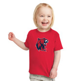 Toddler Red T Shirt-Official Logo