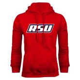 Red Fleece Hoodie-RSU
