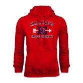 Red Fleece Hoodie-Cross Country XC