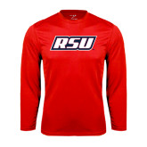 Syntrel Performance Red Longsleeve Shirt-RSU