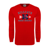 Red Long Sleeve T Shirt-Cross Country XC