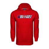Under Armour Red Performance Sweats Team Hoodie-Softball