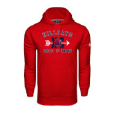 Under Armour Red Performance Sweats Team Hoodie-Cross Country XC