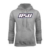 Grey Fleece Hoodie-RSU
