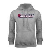 Grey Fleece Hoodie-Hillcat Athletics
