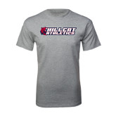 Grey T Shirt-Hillcat Athletics