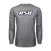 Grey Long Sleeve T Shirt-RSU