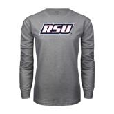 Grey Long Sleeve T Shirt-RSU