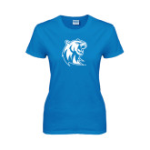 Ladies Sapphire T Shirt-Official Logo