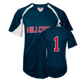 Replica Navy Adult Baseball Jersey-#1