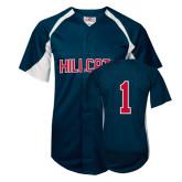 Replica Navy Adult Baseball Jersey-#1