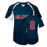 Replica Navy Adult Baseball Jersey-#2