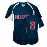 Replica Navy Adult Baseball Jersey-#3