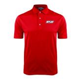 Red Dry Mesh Polo-RSU