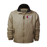 Khaki Survivor Jacket-Stacked Combination Logo