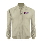 Khaki Players Jacket-Stacked Combination Logo