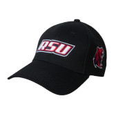 Black Heavyweight Twill Pro Style Hat-RSU