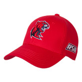 Red Heavyweight Twill Pro Style Hat-Official Logo
