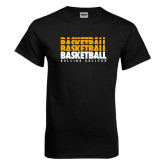Black T Shirt-Basketball Repeating
