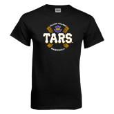 Black T Shirt-Tars Baseball w/ Seams
