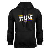 Black Fleece Hoodie-Slanted Rollins College Tars