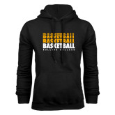 Black Fleece Hoodie-Basketball Repeating
