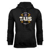 Black Fleece Hoodie-Tars Baseball w/ Seams